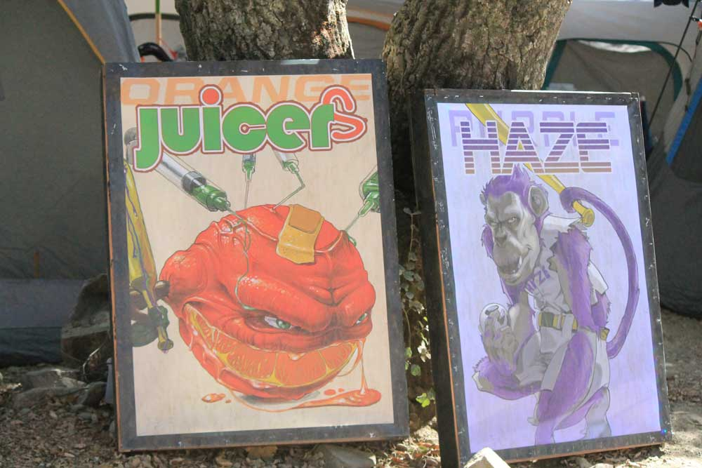Orange Juicers and Purple Haze