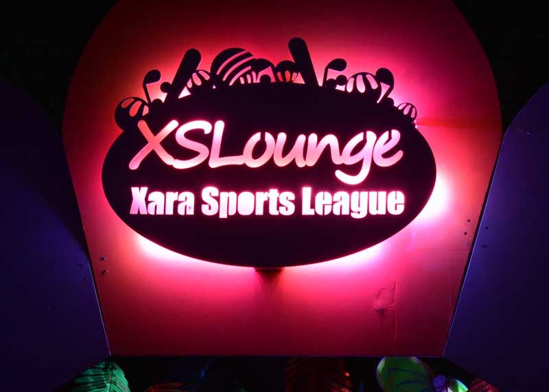 Xara Sports League Theme Camp